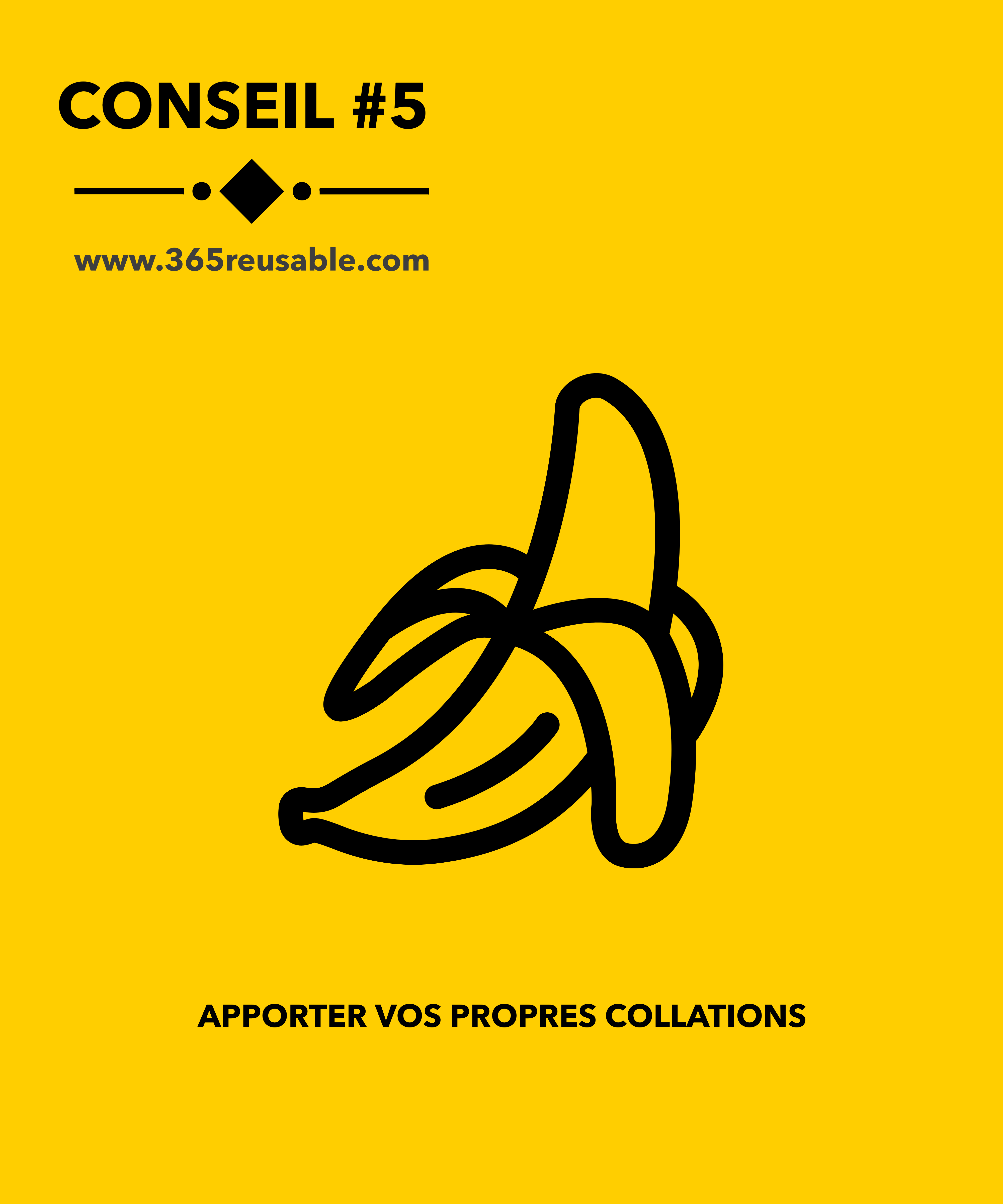 #5 APPORTER VOS PROPRES COLLATIONS